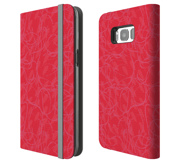 Red-print-Samsung-Galaxy-S8-Plus-Folio-Wallet-Case